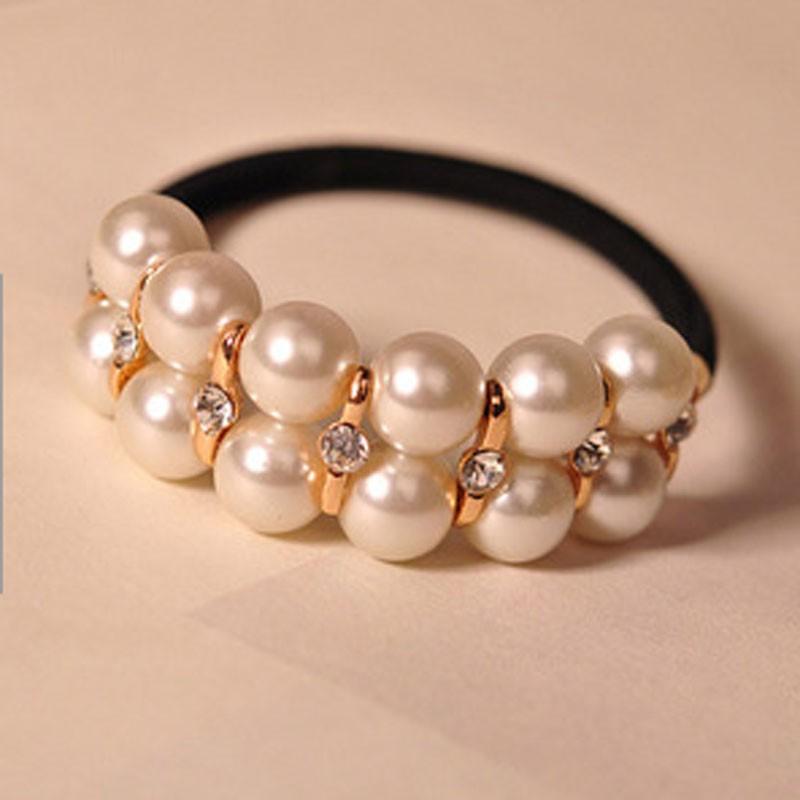 Headband with Pearls/Strass